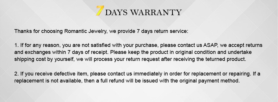 014 7 days warranty