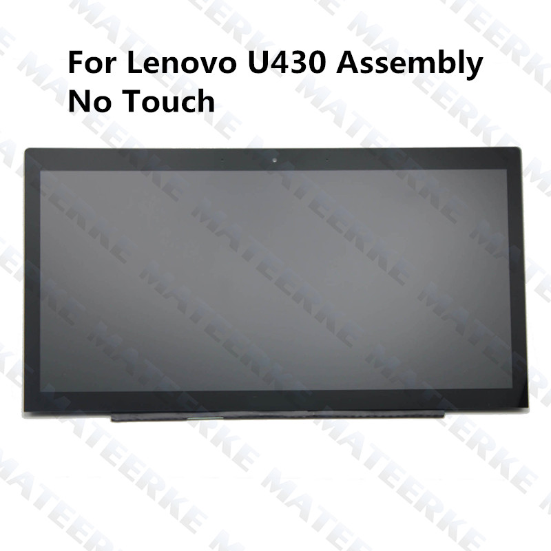 innovative design a7a52 12ded For Lenovo U430 B140HTN01.2 Non-Touch Laptop Assembly Replacement 1080P  resolution compatible with 1600 900
