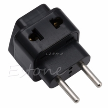 1 PC Universal UK/US/EU/AU zu EU EUROPA Stecker Travel Power Adapter Splitter konverter