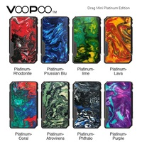 New Original VOOPOO Drag Mini Platinum Edition Box MOD with 4400mAh Battery long time vaping Max 117W vs Voopoo Drag 2/ GEN Mod