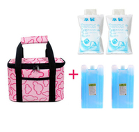 Fashion Thermal Insulated Cooler Lunch Bag Outdoor Picnic Tote Handbag Beverage Bento Lunch Box Bag With