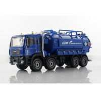 ZXZ 1:50 kids toys shop truck watering cart metal cars model diecasts classic miniatures car toys for children gift