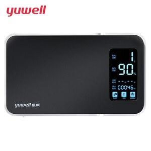 Image 3 - Кислородный концентратор yuwell, портативный кислородный генератор, медицинское оборудование, магнитный ЖК дисплей YU300, высокая концентрация