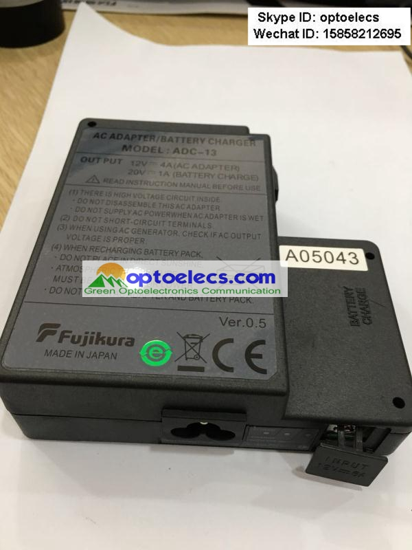 Image 4 - Free Shipping replacement Fujikura ADC 13 AC adapter for Fujikura FSM 60S/ 60R fusion splicerFiber Optic Equipments   -