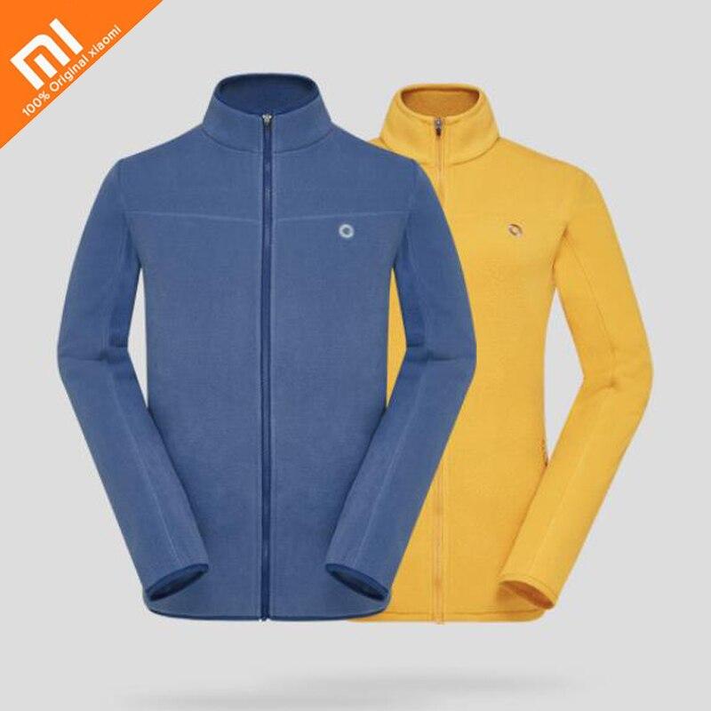 Оригинальный xiaomi mijia AMAZFIT легкий теплый флисовое пальто Антистатические Легкий теплая обувь для мужчин и женщин с тем же пальто Лидер продаж