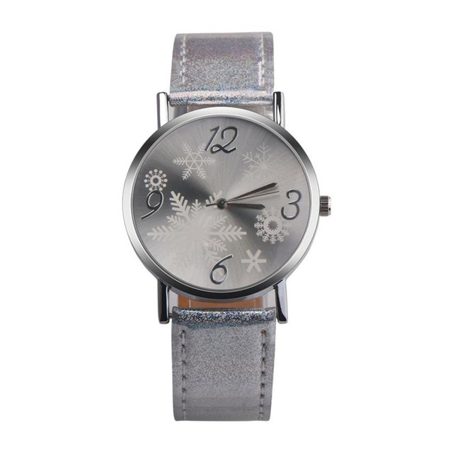 Christmas Watches Relogio Feminino Fashion Leather Quartz Analog Women Watch Casual Ladies Watches Quartz Wristwatch Clocks Gift