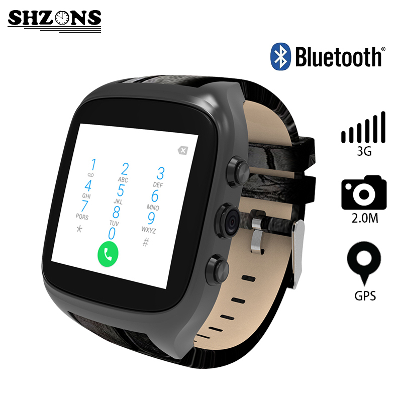 Фотография New X01S 2.0M HD Camera Quad Core Smartwatch 3G SIM Card Android 5.1 WIFI Bluetooth Internet GPS Waterproof Wearable Smart Watch