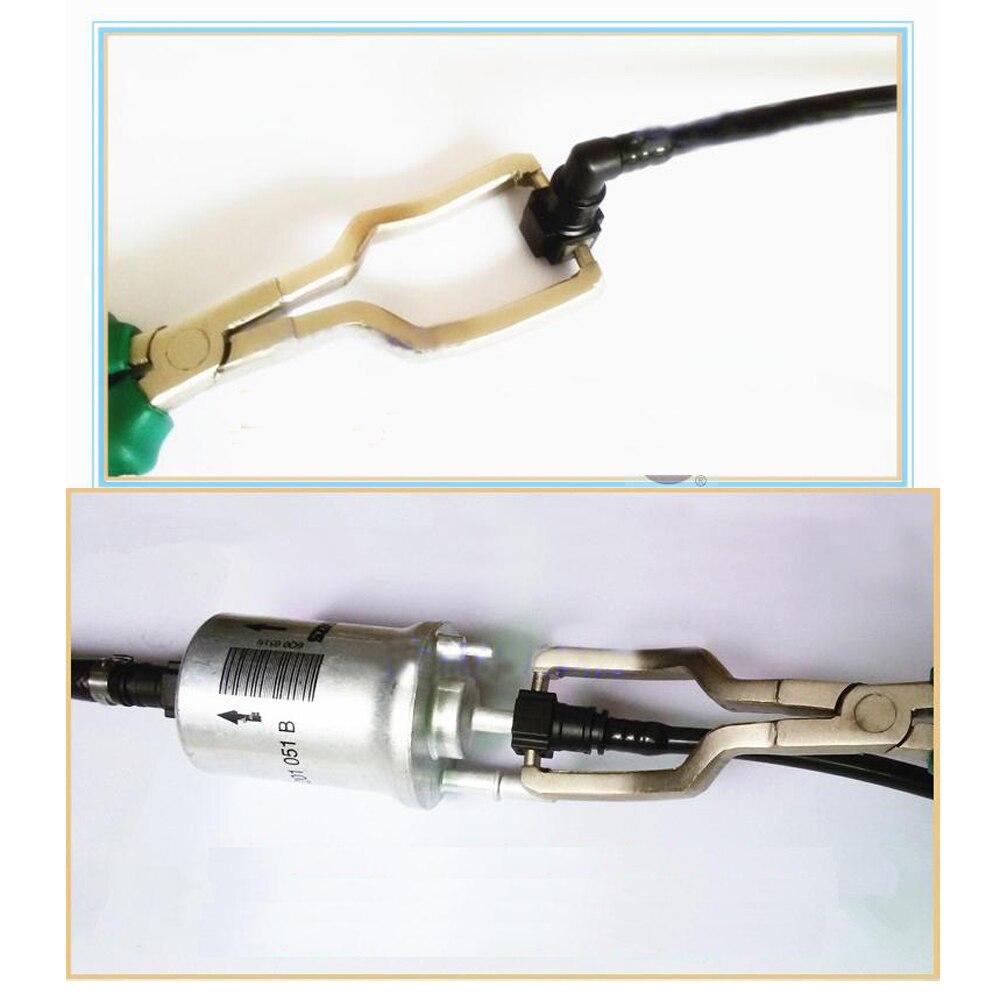 Купить с кэшбэком Car Fuel Hose Line Clip Adapter Disconnect Loosening Plier