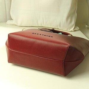 Image 5 - 新しい女性メッセンジャーバッグの女性の革ハンドバッグデザイナーブランドレディーショルダーバッグ高品質 FC40 25