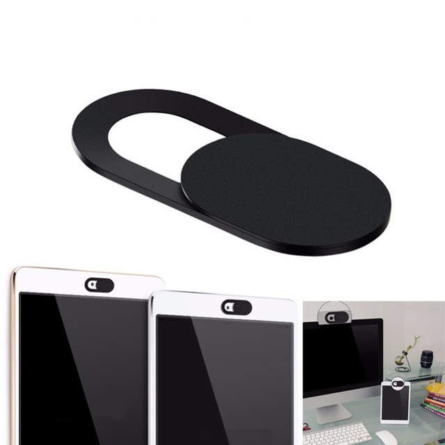 Ultra Thin WebCam Cover Shutter Magnet Slider Plastic Camera Cover for Web  IPad IPhone PC Mac Tablet Phone Lens Protect Privacy