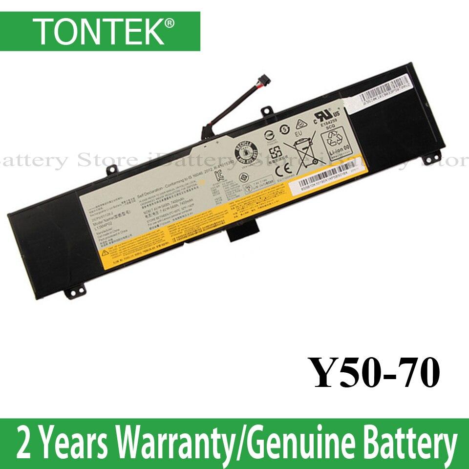 Wholesale Y50-70 Laptop Battery  Lenovo Y50 Y50-70 Series Y50-70-ISE Y50-70 Y70-70 Y70 L13N4P01 L13M4P02