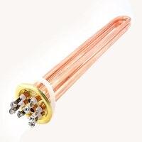 Tubular Bundle Water Heater Electric Tube Heating Element AC 380V 9KW