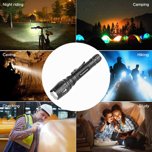 Image 2 - 5 modi Super Helle Super Helle LED Taschenlampe Zoom XML T6/L2 Starke Licht Wasserdicht Polizei Taschenlampen 18650 Taschenlampe Lichter