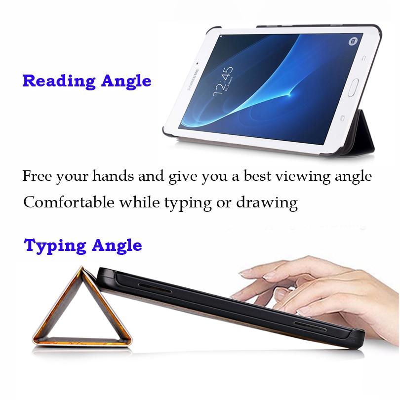 Funda con tapa para Samsung Galaxy TAB A 7 T280 T285 7 pulgadas Funda - Accesorios para tablets - foto 6