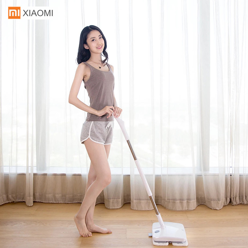 Image 2 - Xiaomi SWDK D260 Handheld Electric Floor Mop Wireless Mijia Wiper Floor Washer Mopping Robot Household Cleaning With LED Light-in Vacuum Cleaners from Home Appliances