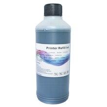 Для принтеров Canon набор для наполнения чернил для HP Epson брат Цвет принтер краска для картриджей заправка СНПЧ чернила 500 мл черный