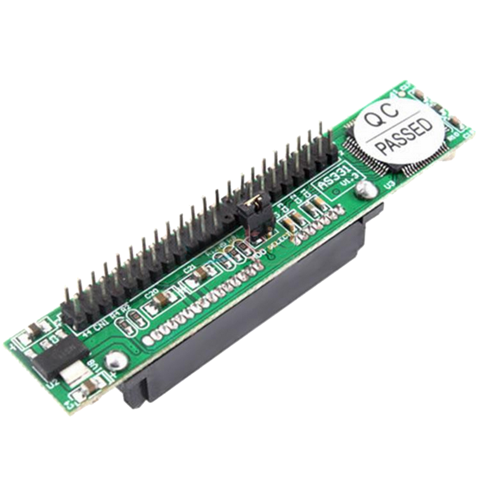 SATA Female To 44Pin 2.5inches IDE Devices Male HDD Adapter Converter IDE Adapter 69x14mm Computer Add On Cards