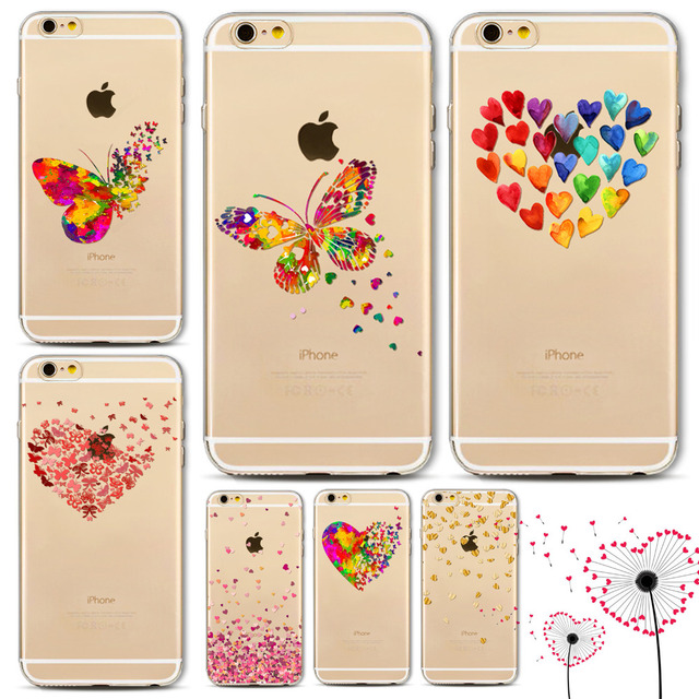 coque iphone 7 silicone amour