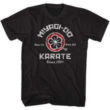 b73809090 Karate Kid Official T Shirt Mens Movie Daniel Laruso Mr Miyagi Sizes SM -  5XL T