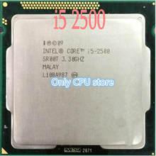 Processador I5-2500 cpu sr00t 3.30ghz, cpu quad-core lga1155 6mb cache 95w i5 2500