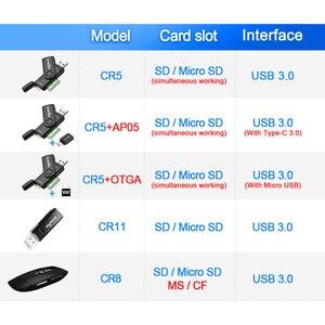 Image 2 - USB 3.0 Rocketek רב קורא כרטיס הזיכרון OTG סוג ג אנדרואיד מתאם קורא כרטיסים עבור מיקרו SD / הקוראים PC מחשב TF MicroSD