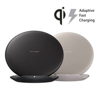 Qi Wireless Charger for Samsung Galaxy S8 S8+ Plus Mobile Phone Charger with Fan Overvoltage Temperature Wireless Fast Charger