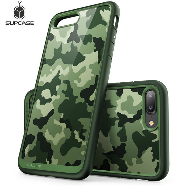 big sale 48ad3 3f3ee US $10.19 40% OFF|Aliexpress.com : Buy For iphone 8 Plus Case (2017  Release) SUPCASE UB Style Camouflage Color Premium Hybrid Protective Bumper  Cover ...