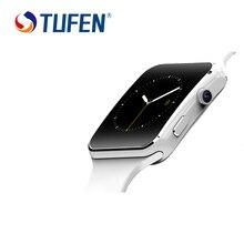 2016ใหม่มาถึงบลูทูธsmart watch x6 + s mart w atchสำหรับapple iphone androidโทรศัพท์กับกล้องสนับสนุนซิมการ์ดtfรัสเซียES