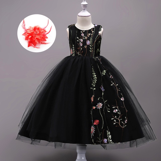 3c2f37c6eff Junior Clothes Evening Designer Children Easter Clothing Wedding-gown -kids-ceremonies-clothes-girls Special Occasion Dresses