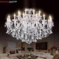 Luxury New K9 Modern Chandelier Lustre Crystal Chandeliers 3/6/8/10/15/18 Arm Lustres De Cristal Chandelier AC110V/220V lighting