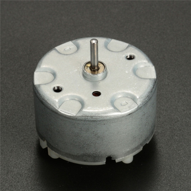 2180rpm Miniature Small Electric Motor Brushed 6v Dc For Models Crafts Robots Best Promotion