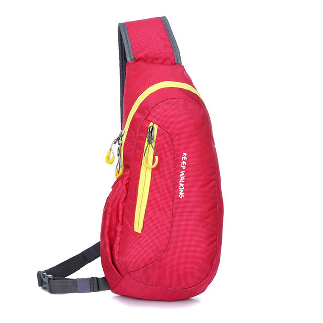 Waterproof Multipurpose Camping Hiking Diagonal Chest Sports Bag For Men & Women