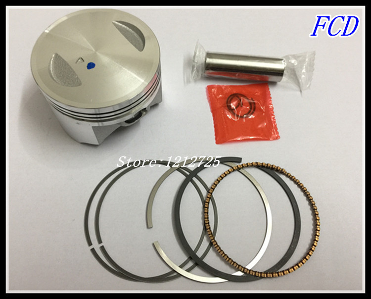 Motorcycle <font><b>Piston</b></font> Ring GN150 GS150 EN150 GZ150 moto <font><b>Piston</b></font> components <font><b>Piston</b></font> diameter <font><b>62mm</b></font> <font><b>Piston</b></font> pin 14mm image