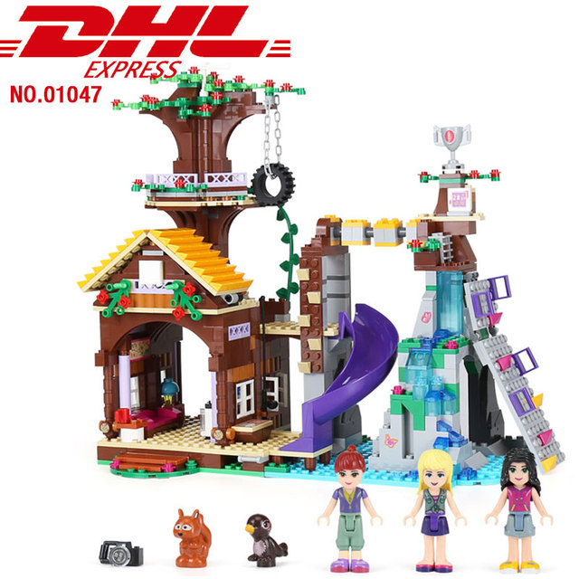 10497 Compatible With Lego Blocks Friends Adventure Camp Tree House