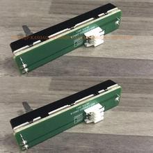 파이오니어 DDJ SR SX DJM 250 704 DJM250 A032 에 대 한 2 PCS 교체 크로스 페이더 어셈블리 PCB 핸들 높이 20mm