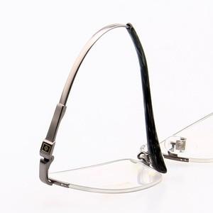 Image 2 - RUI HAO EYEWEAR Eyeglasses Frame Titanium Alloy Glasses Frame Men High elasticity Eyeglasses Frame Memory Spectacle 33018