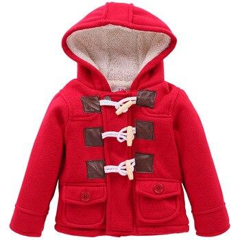 985fa9c4a 2018 niños ropa gruesa otoño cálido bebé niños chaqueta de invierno de la  chaqueta de ropa para niños abrigos niños prendas de vestir exteriores con  capucha ...