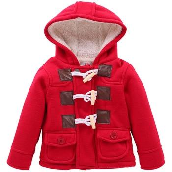 ddcefe407 2019 niños ropa gruesa otoño cálido bebé niños chaqueta de invierno de la  chaqueta de ropa para niños abrigos niños prendas de vestir exteriores con  capucha ...