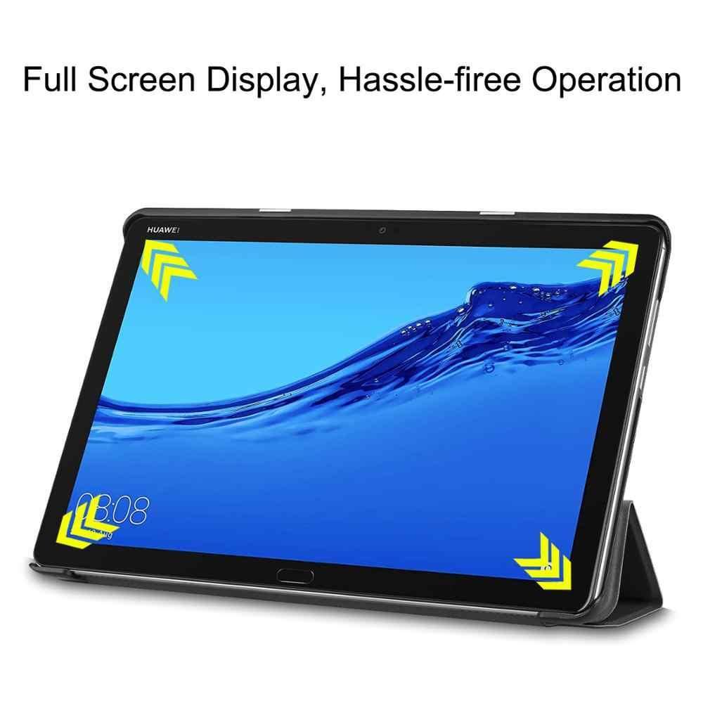 Inteligentne etui do Huawei Mediapad M5 Lite10 BAH2-L09/W19/W09 10.1 cala Tablet pokrywa dla Mediapad M5 Lite 10. 1 Slim Capa