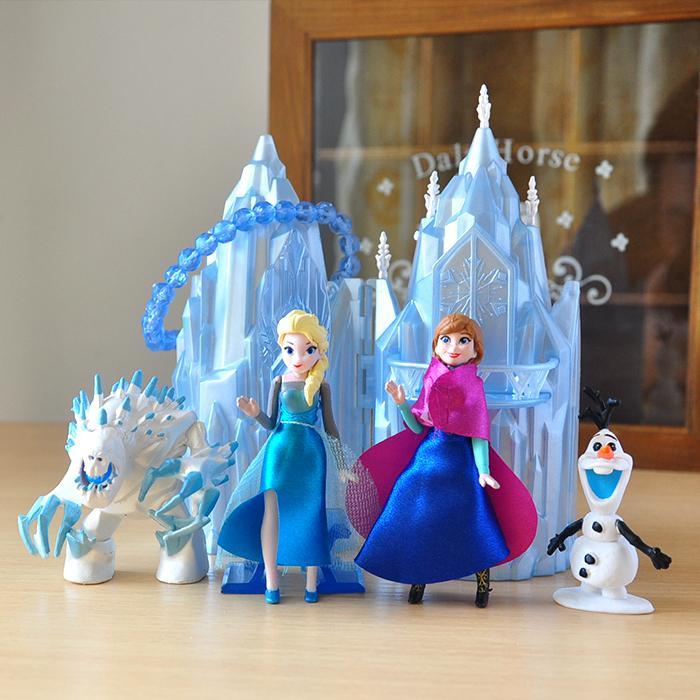 Disney Princess Toys 6pcs/Lot 6 16cm Figures Frozen Anna