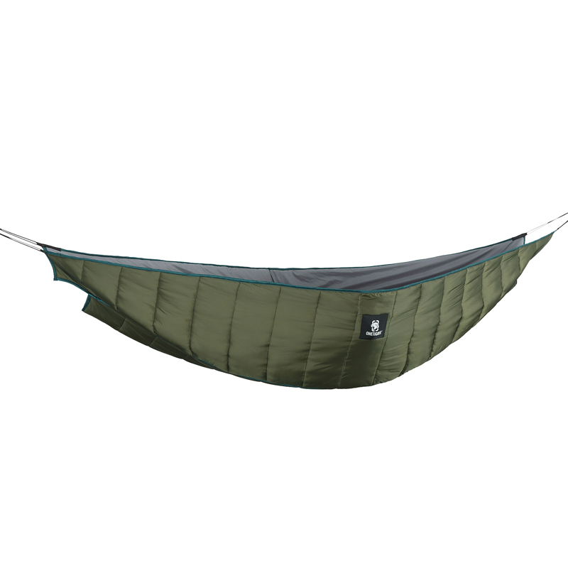OneTigris Winter Double Hammock Under-Quilt Lightweight Full Length Hammock Underquilt Under Blanket 23 F to 41 F (-5 C to 5 C) цена 2017