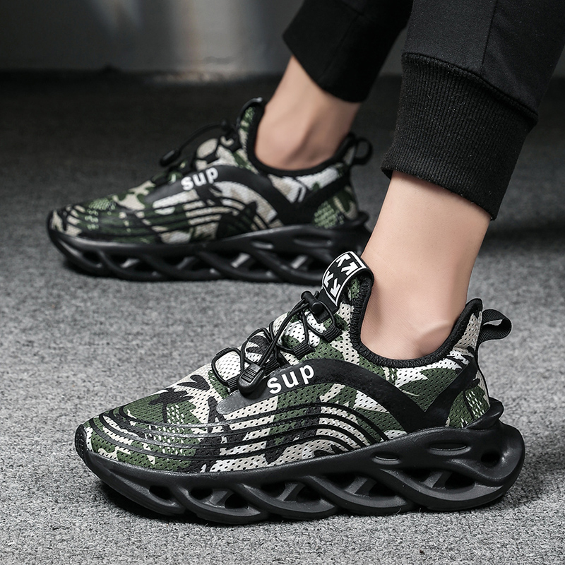 2019 Hot Sale Men Shoe Men Walking Shoes Summer Light Weight Breathable Mesh Sneakers Stylish Four Seasons Running Shoes For Men