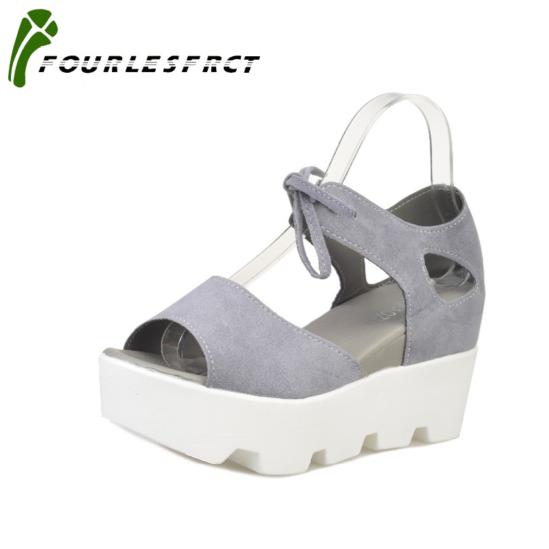 2017 Summer shoes woman High heel  Sandals Women Soft Leather Casual Open Toe Gladiator wedges Women Shoes zapatos mujer 2017 gladiator summer shoes woman platform sandals women flats soft leather casual open toe wedges sandals women shoes r18