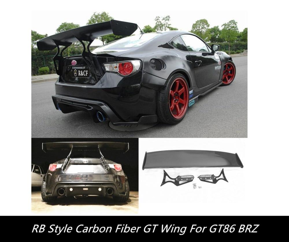 GT86 BRZ FR-S REAL CARBON FIBER GT SPOILER+BRACKETS  NICE FITMENT! maserati granturismo carbon spoiler