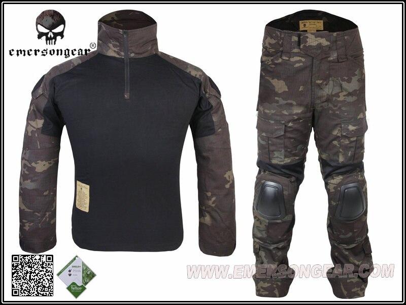 Emerson Gen2 High Quality Tactical Combat Suit Jacket & Uniform Paintball Hunting Official Military Training Men's Uniform Suit hot sale gen2 official tactical military training uniform combat clothing pant