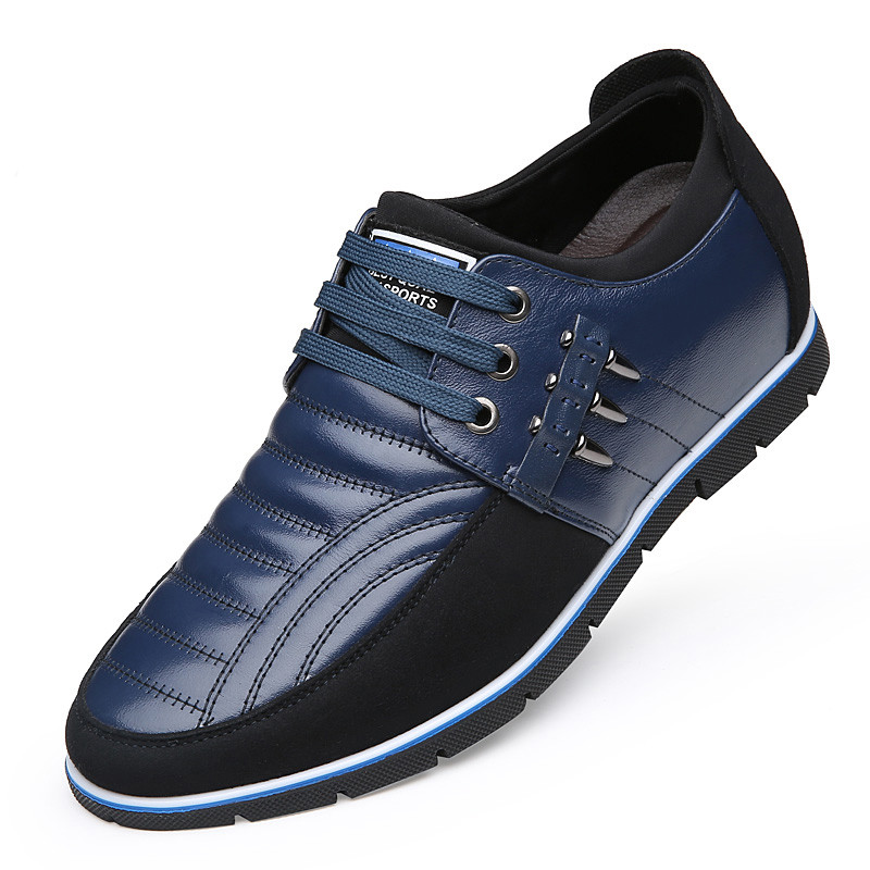Couro 2019 Increased Homem Height Calçados Increased De Negócios Outono Altura Primavera Da Sapato Condução 6cm Dos Genuíno Homens 6cm Da011 up Casuais Aumento Sapatos Lace Lazer wB6TXxq4q