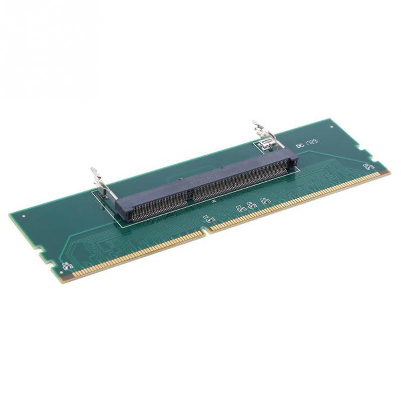 Image 2 - 240 To 204P DDR3 DIMM RAM Memory Adapter Card Desktop Connector Computer Part Desktop Component-in Add On Cards from Computer & Office