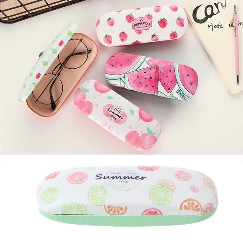 Protable Fruit Sunglasses Hard Eye Glasses Case Eyewear Protector Box Pouch Bag