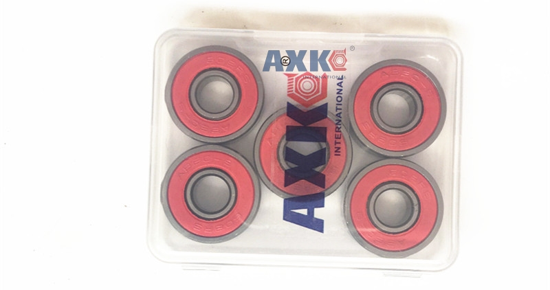 608-2RS 608ZZ 608 2RS ABEC-7 8x22x7mm red double rubber sealing cover deep groove ball bearing 10pcs 608 2rs 608rs 608 2rs abec 9 8mm x 22mm x 7mm red double rubber sealing cover deep groove ball bearing 1733 10