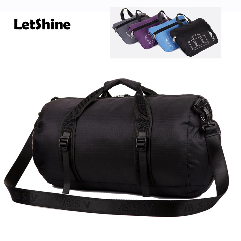 Men Women Fasion Waterproof Sport Bags Mulitifunctional Outdoor Travel Football Training Folding Gym Xb In From Sports Entertainment On